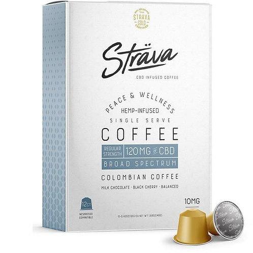 STRAVA CBD COFFEE (NESPRESSO* PODS) - 10MG CBD/SERVING - MEDIUM ROAST