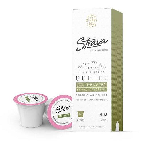 STRAVA CBD COFFEE (K-CUPS) - 4MG CBD/SERVING - MEDIUM ROAST