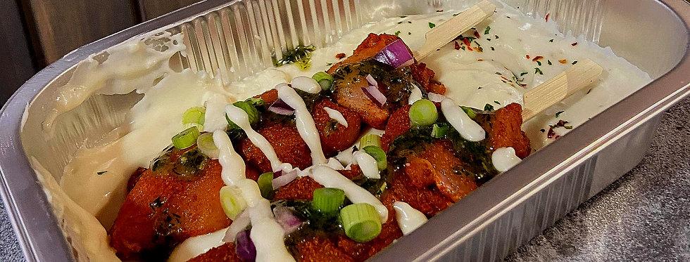 2 Chicken Shawarma Kebabs