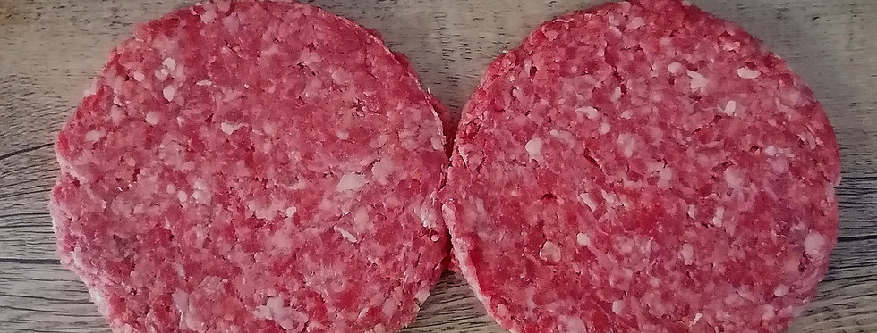 Bowland Rump Steak Burgers