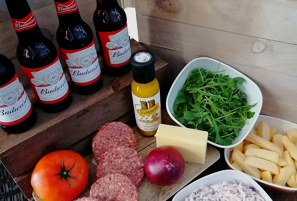 Off the Butcher's Block - Burgers & Beers for Four