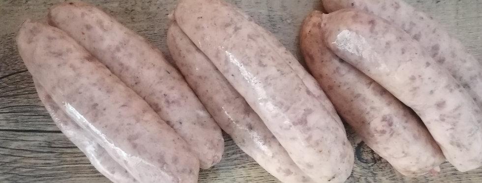 Homemade Pork Sausages (1kg)