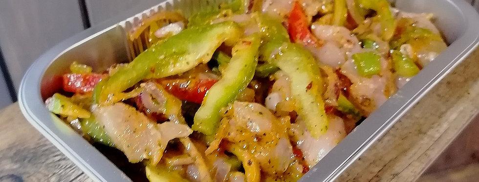 Caribbean Chicken Stir Fry ( 500g)
