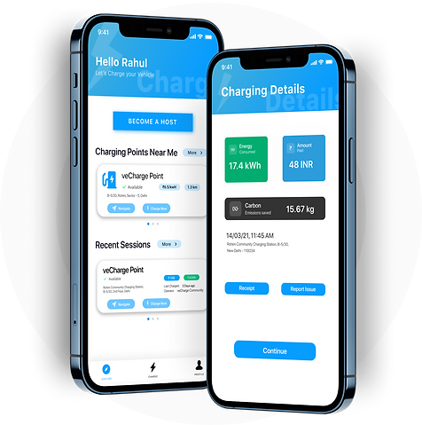 veCharge Mobile App