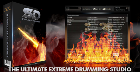 Stigmatized Drummer Software,Ultimate Drums Production