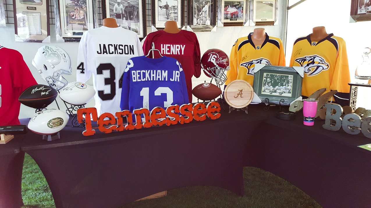 golf tournament silent auction