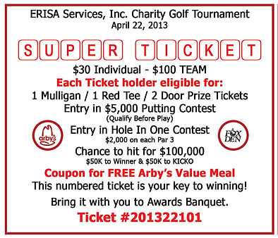 Golf Super Ticket Package