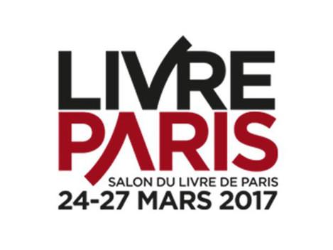 SALON LIVRE 2017 :  venez-nous rencontrer sur le stand E55, du 24 au 27 mars