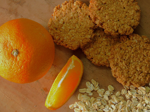 Tangy Oatmeal Cookies
