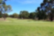 A view down the fairway of the 10th hole