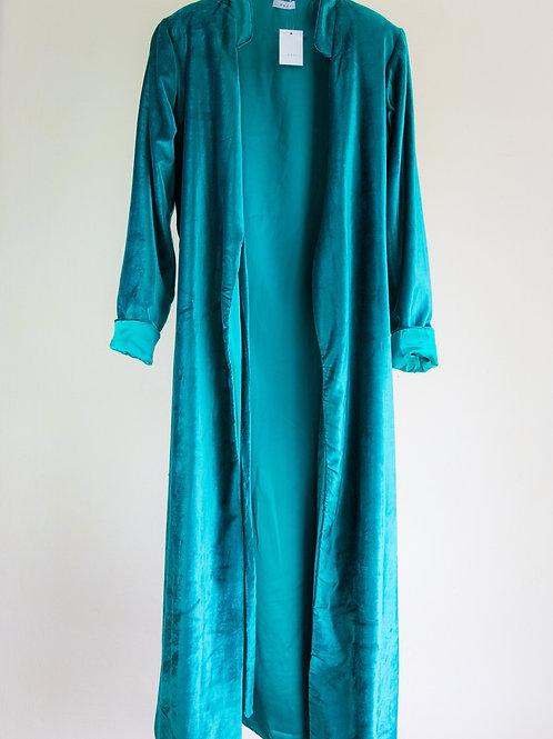 Teal 'Flora' Coat