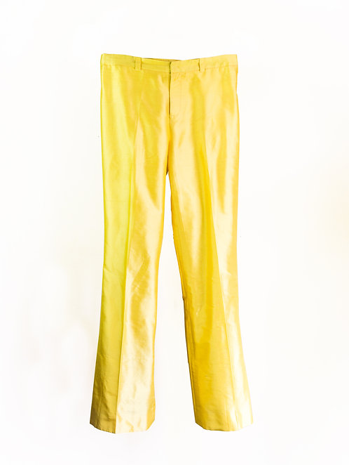 Canary 'Kate' Silk Trousers