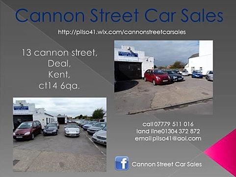 Cannon Street Car Sales Deal