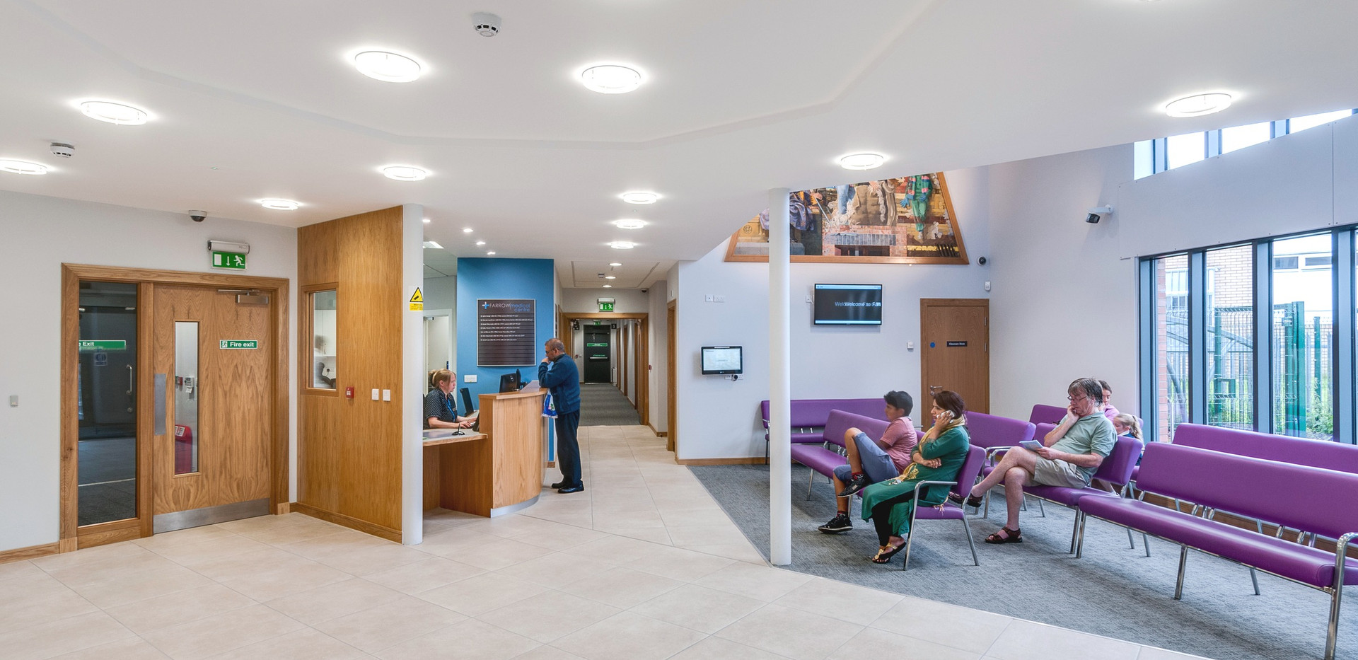 P035 Farrow Medical Waiting Room