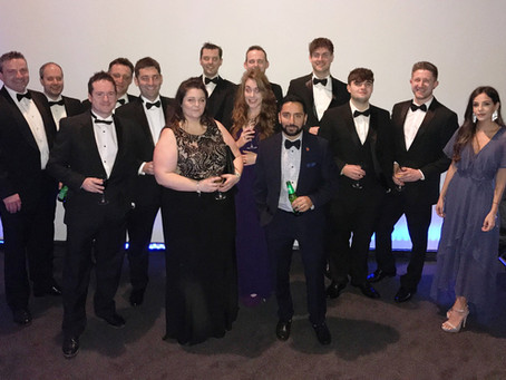 The CIBSE Yorkshire Awards Dinner, 2018