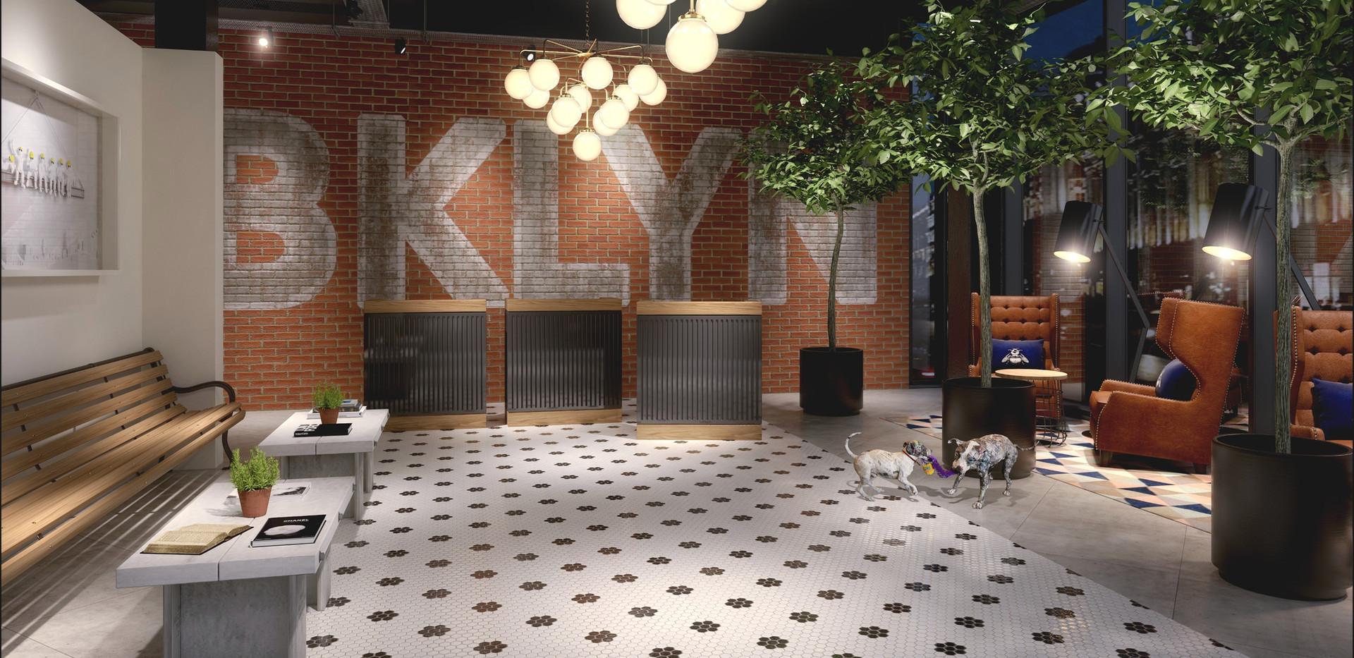 P571 Brooklyn Hotel Reception