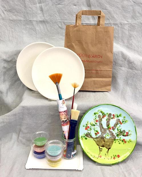 2er Set Frühstücksteller Ø 20cm