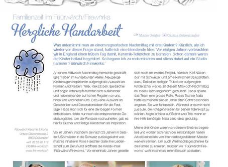 Das füürwärch im Spot Magazine / fire-works in Spot magazine