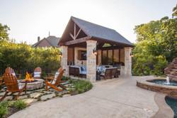 Copy of Outdoor cabana shade shutters al