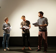 Actors Reading Script