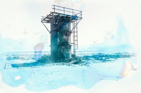 """Diamond Coast water tower"" (3 available)"
