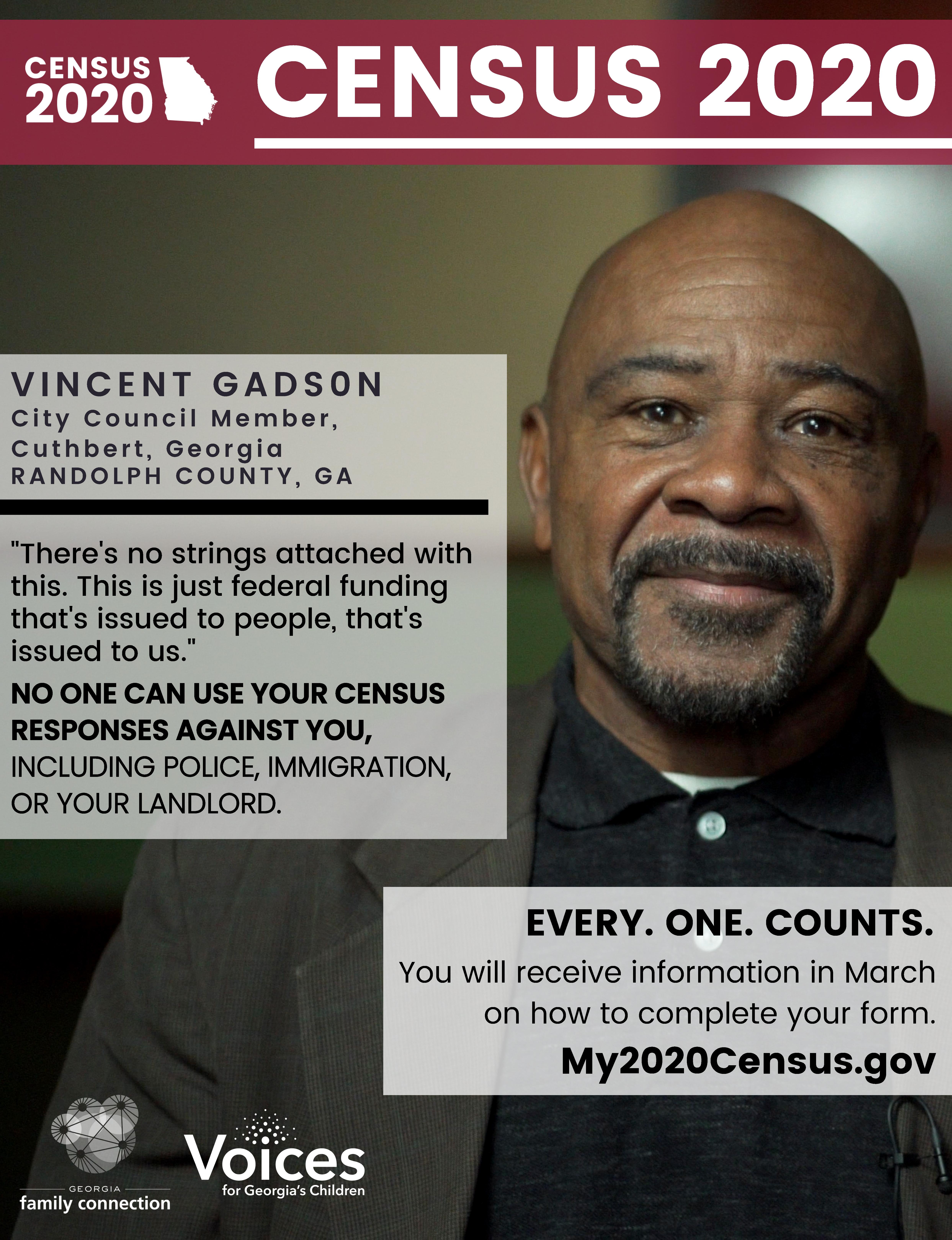 Vincent Gadson Poster