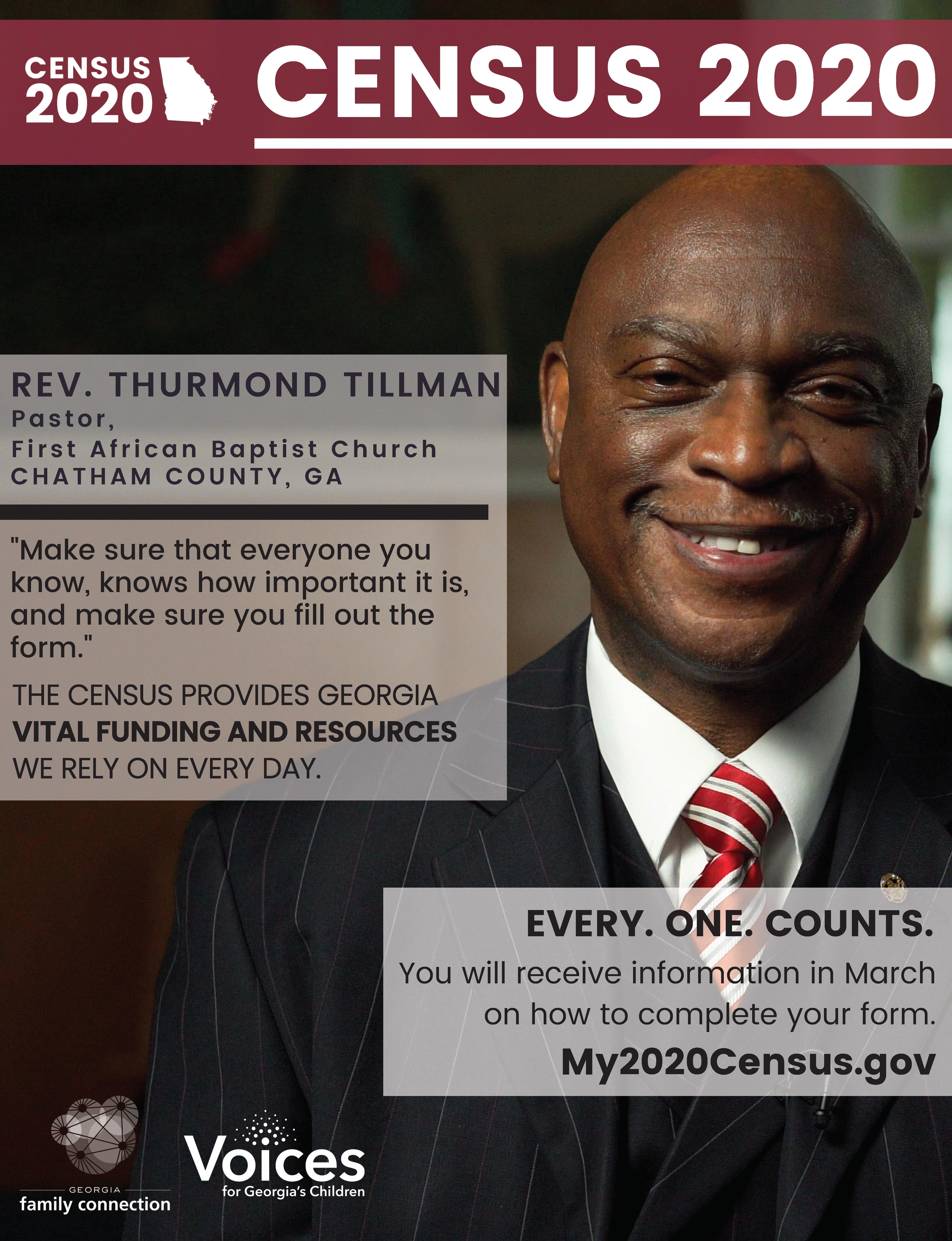 Reverend Thurmond Tillman Poster