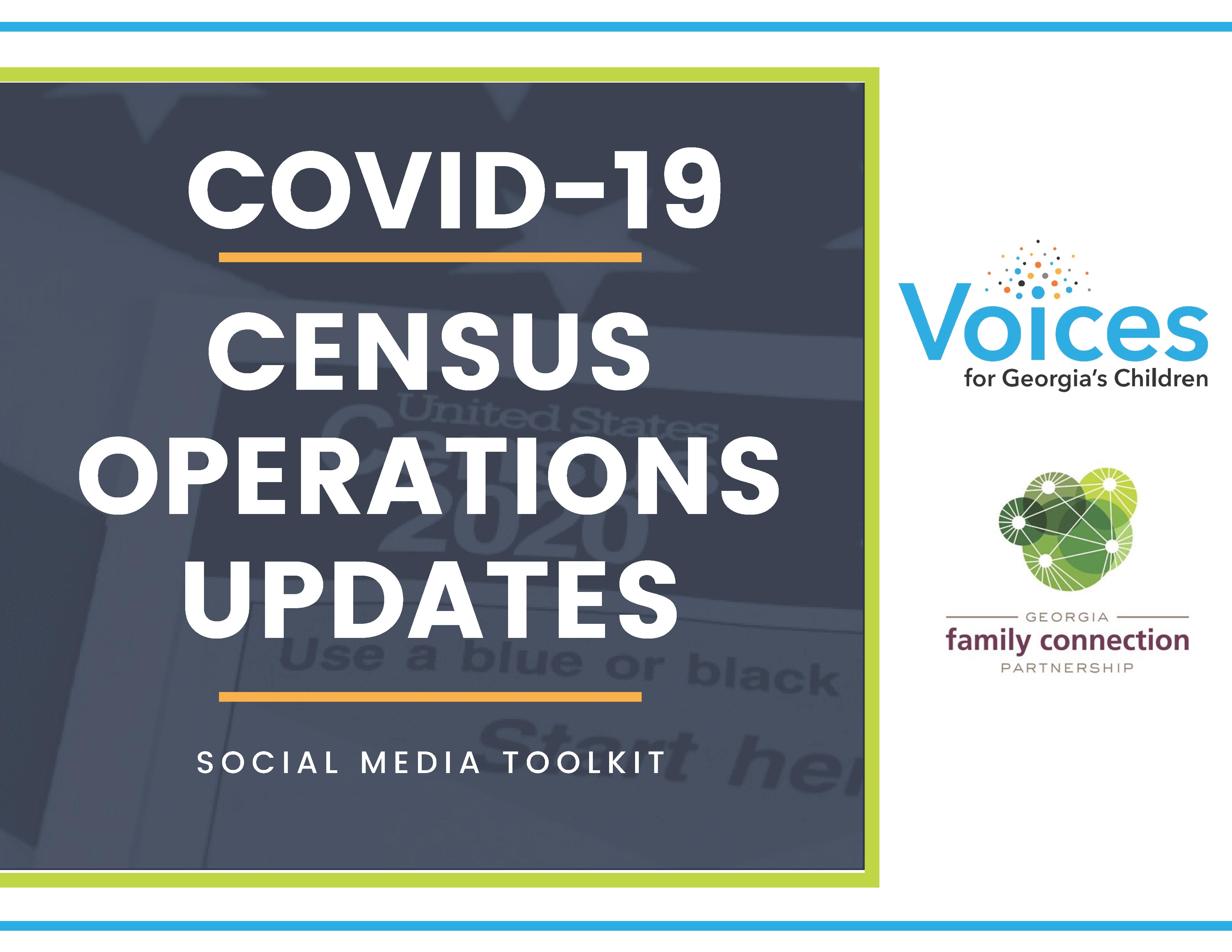Census Operations Social Media Kit