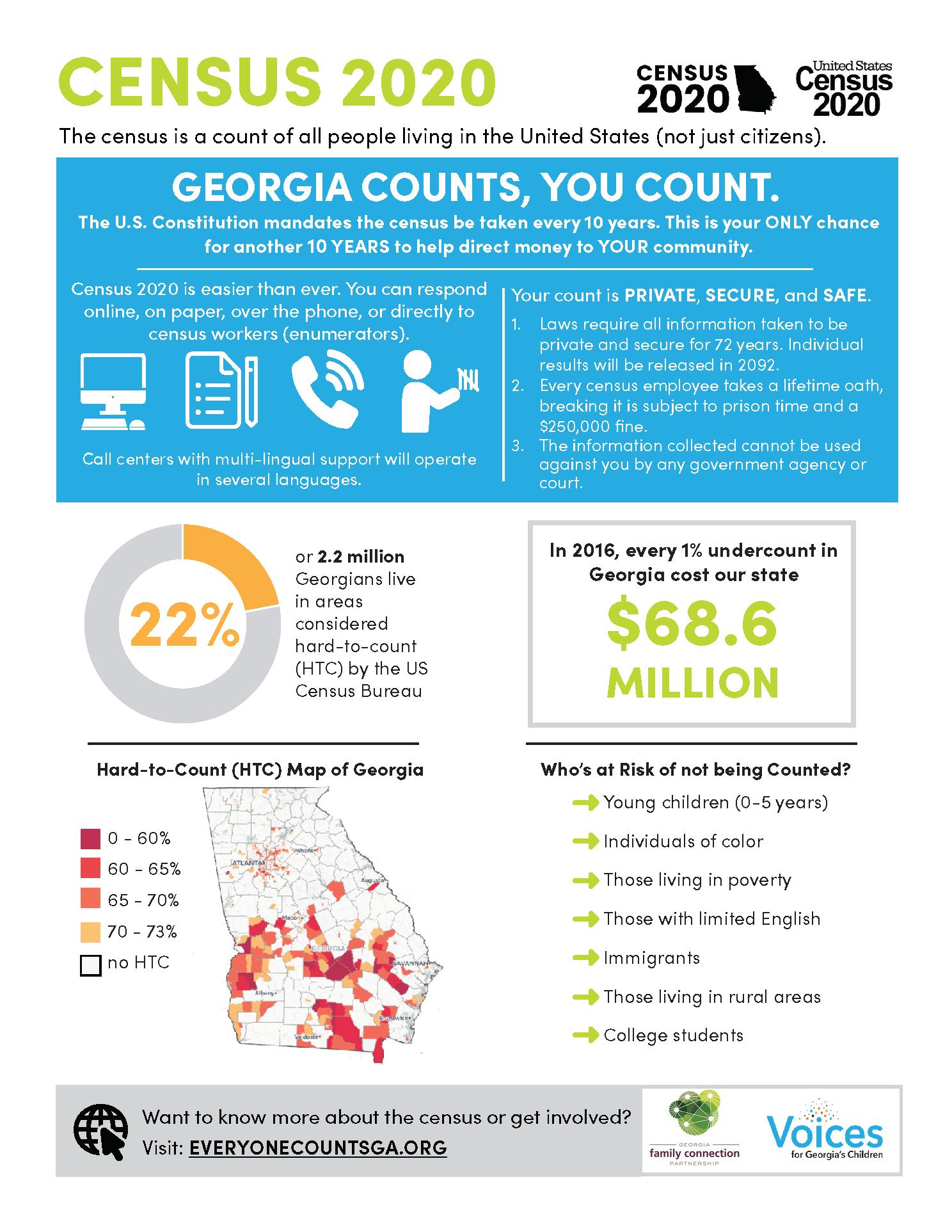 Georgia Census Factsheet