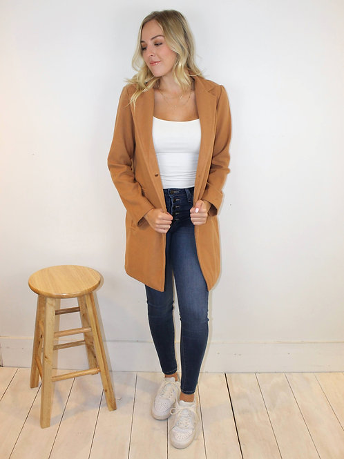2 Button Wool Coat