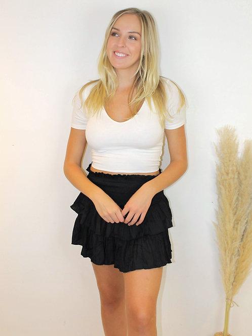 Smock Mini Skirt