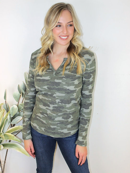 Brushed Camo Thermal