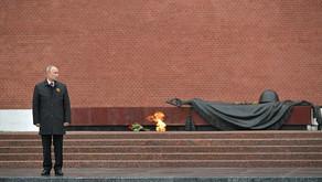 Выступление Президента России В.В.Путина на церемонии возложения цветов к Могиле Неизвестного Солдат