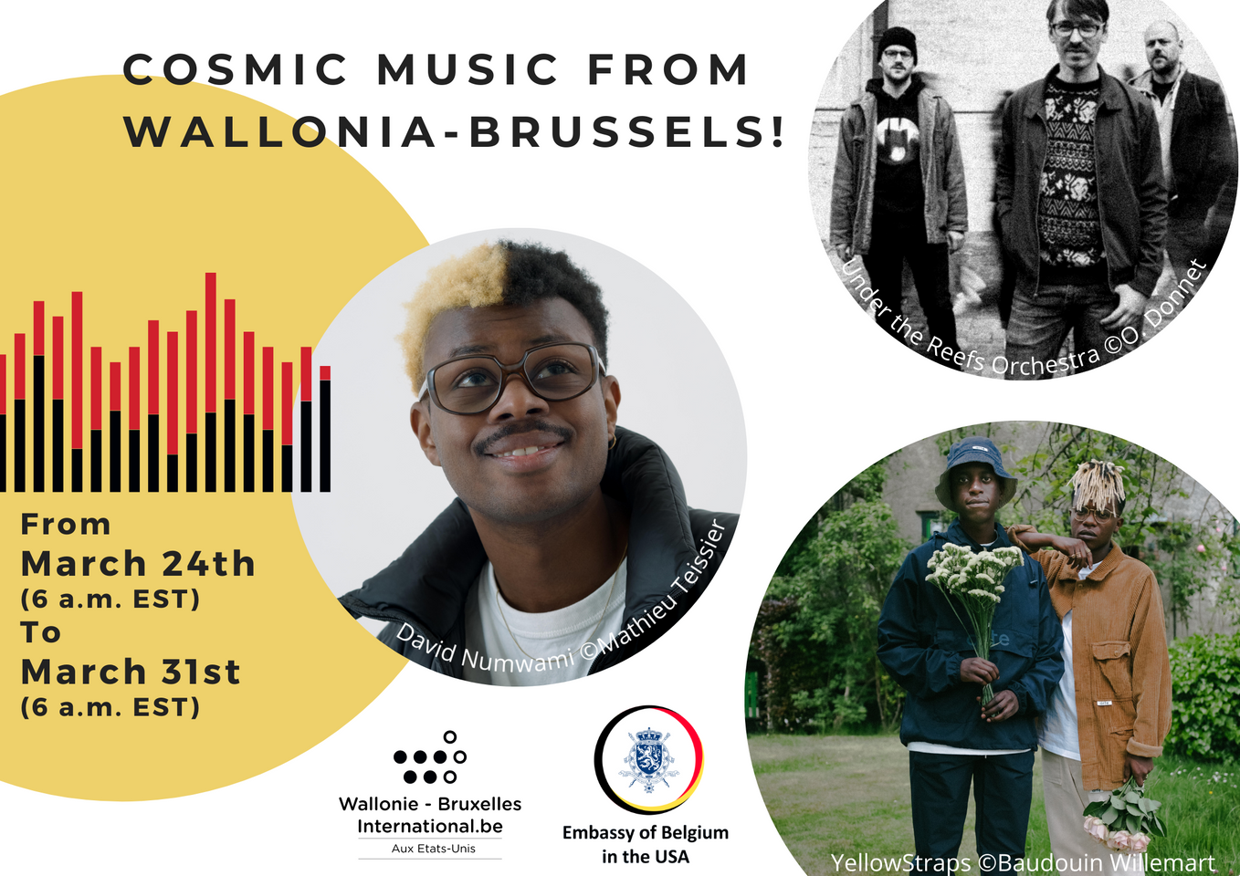 Cosmic Music from Wallonia-Brussels