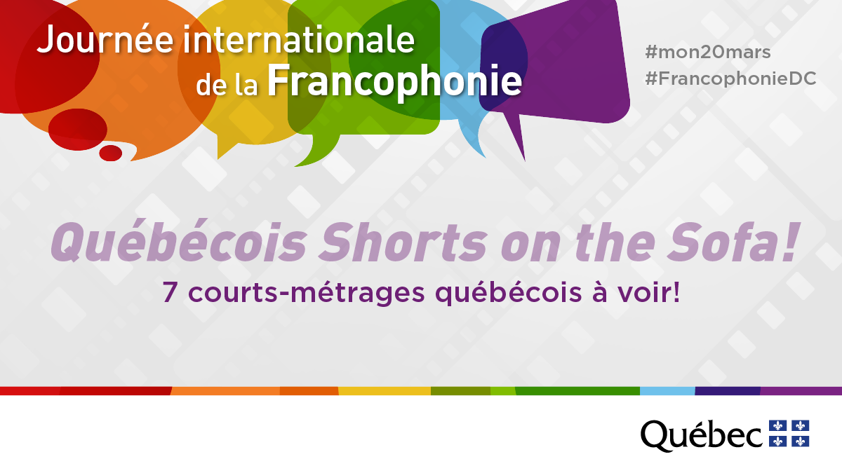 Québécois Shorts on the Sofa!