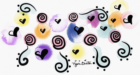 """Flying Hearts"""