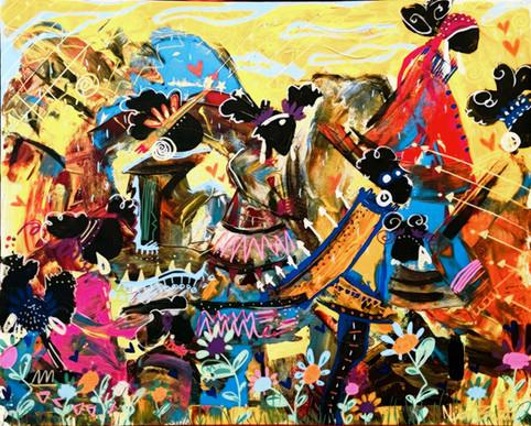 """The Nine"" By N'jeri Binta"