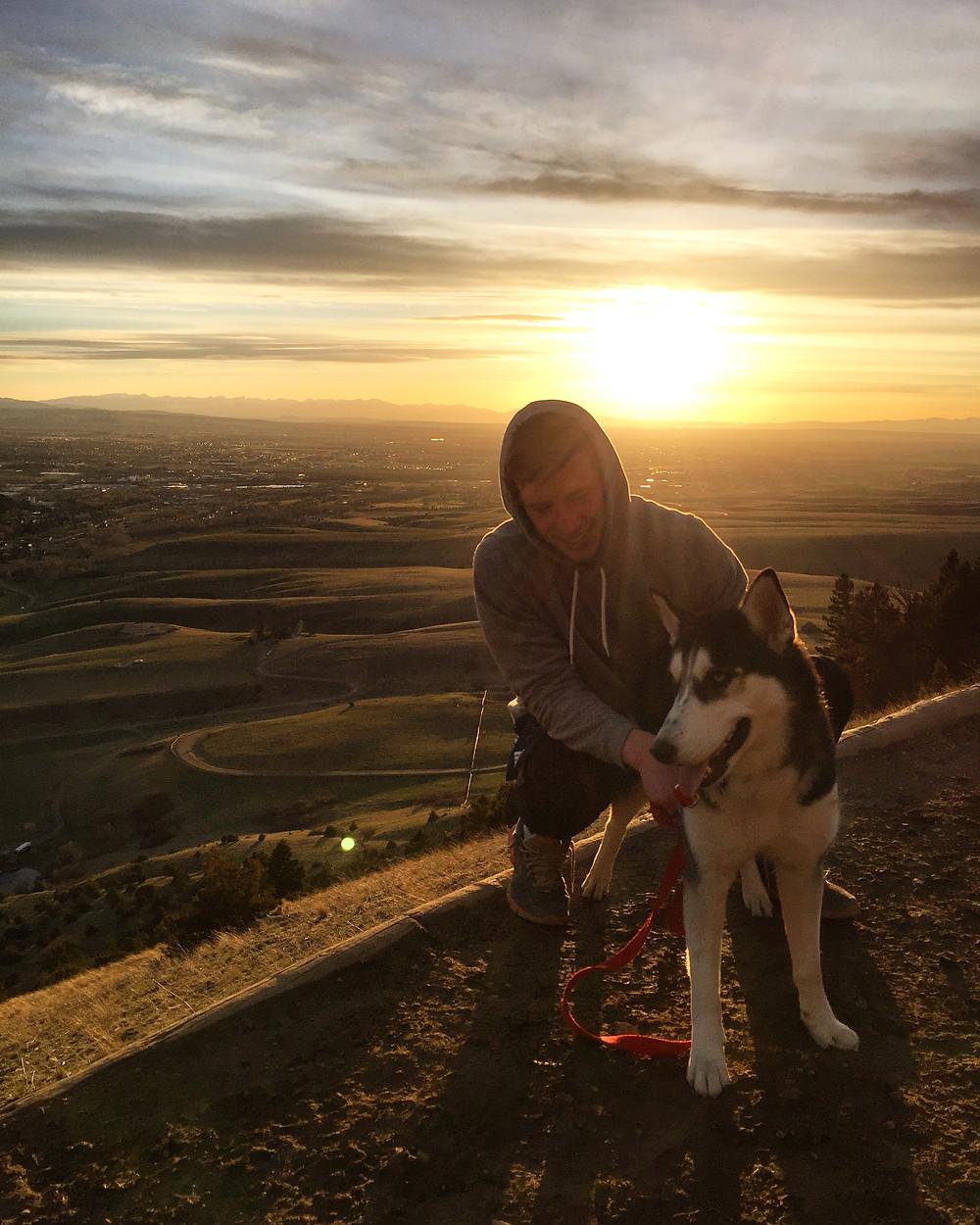 Hiking the M Trail in Bozeman Montana