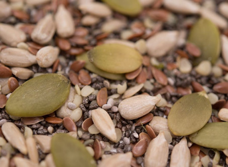 You Don't Have To Be A Bird To Eat And Enjoy Seeds!