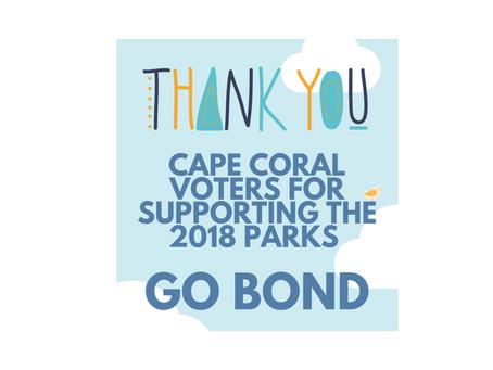 Cape Coral Voters Approve $60 Million Parks GO Bond