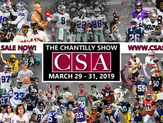 CSA Sports Collectibles Show at Dulles Expo (March 29-31)