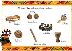 Association Acadiat | Musique africaine | Afrique - Les instruments de musique | 79 Niort
