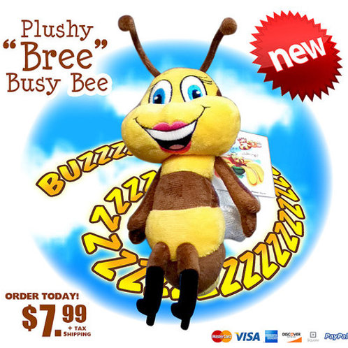 Plushy Bree Busy Bee