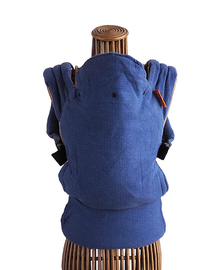 (RENT) Stork Baby Carrier - Blue Wrap Conversion