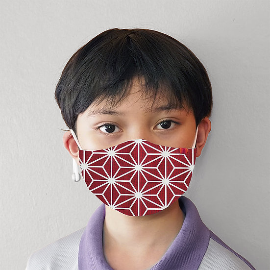 Red Glacier - Tokyo Prints (with filter slot and adjustable elastics)