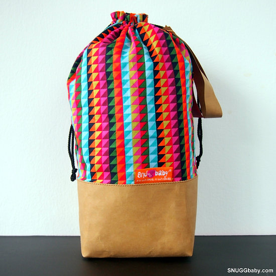 SNUGG Carrier Bag: Zig Zag (Multi)