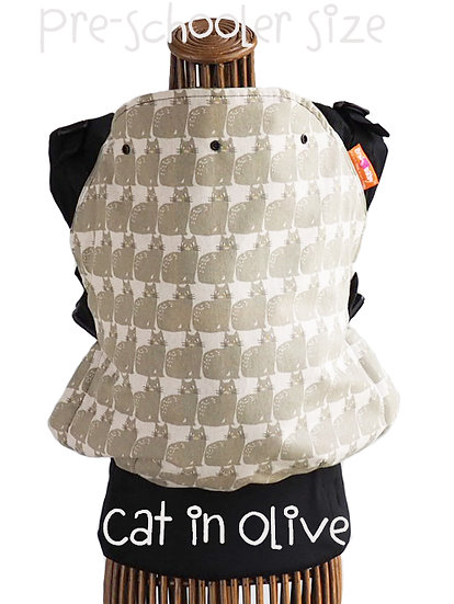 (RENT) Pre-Schooler size : Cat In Olive