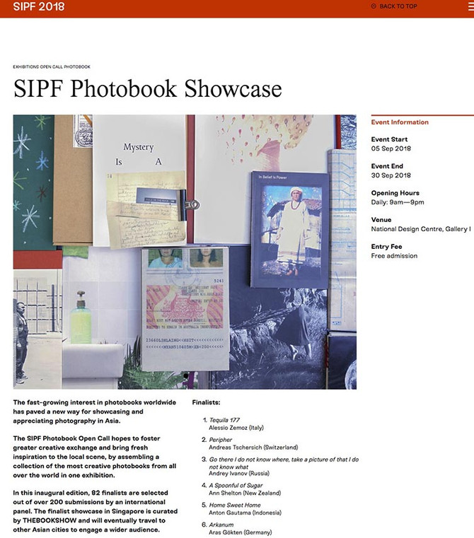 6th Singapore International Photography Festival