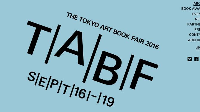 TokyoArtBookFair2016