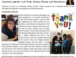 Newsletter 12th July 2021